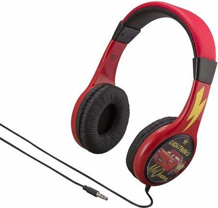 Auta - słuchawki przewodowe dla dzieci
