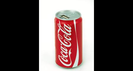 Coca-Cola - PowerBank 2600 mAh w kształcie puszki Coca-coli